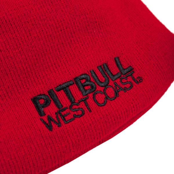 Czapka Pit Bull Beanie CRAIGIE Czerwona