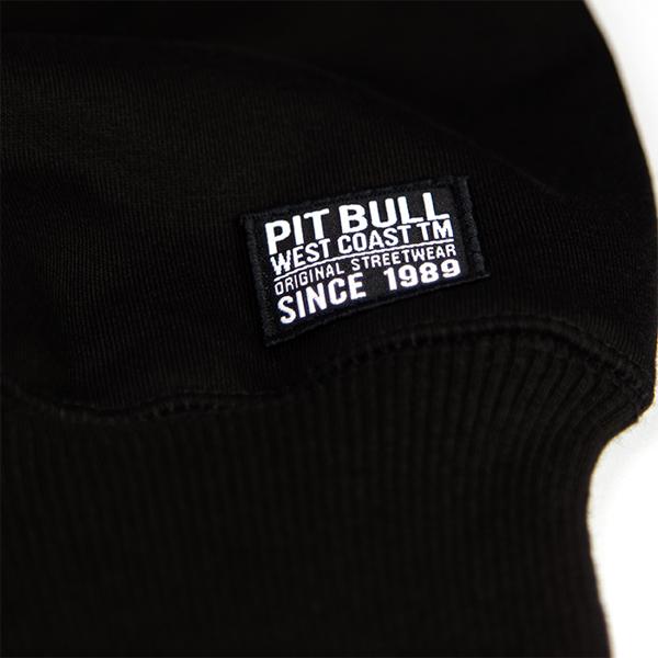 Pit Bull Bluza z Kapturem SKULL DOG 17 Czarna