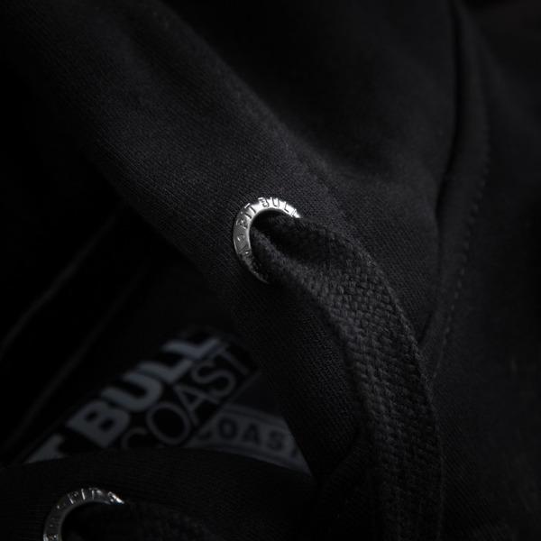 Pit Bull Bluza z kapturem BRAZILIAN JIU JITSU Czarna