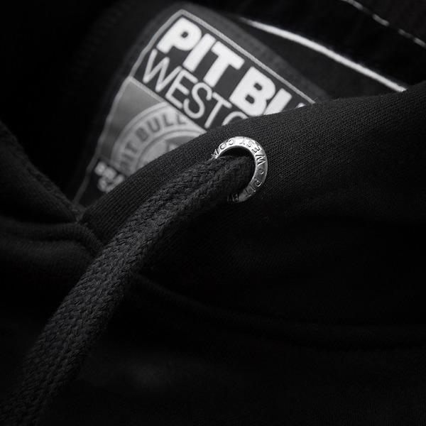 Pit Bull Bluza z kapturem CLASSIC BOXING Czarna