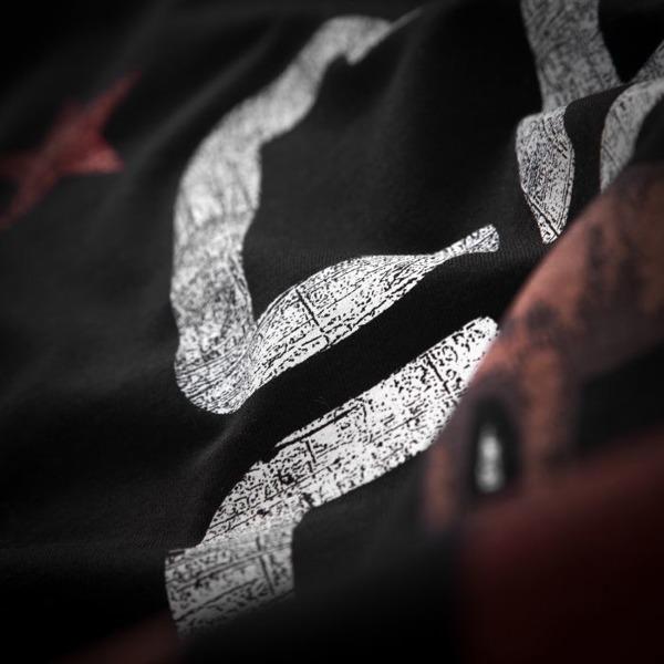 Pit Bull Koszulka CAL FLAG Czarna