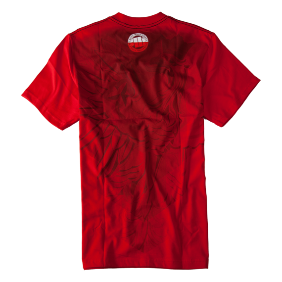 Pit Bull Koszulka KSW 35 Polska Czerwona