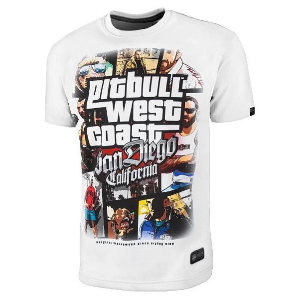 Pit Bull Koszulka MOST WANTED Biała