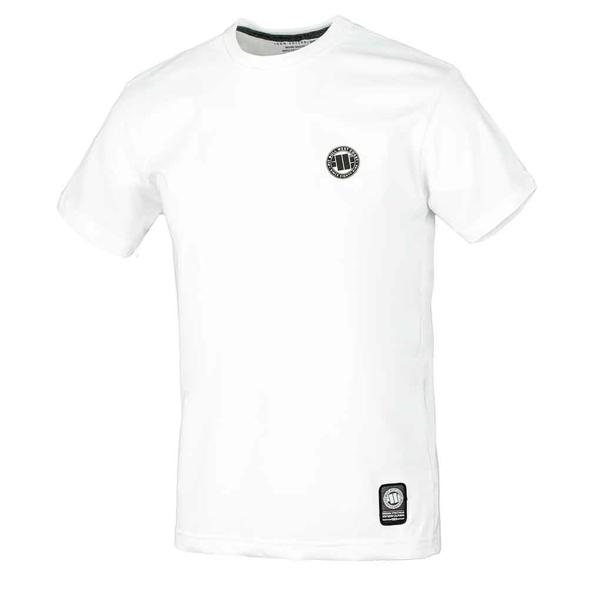 Pit Bull Koszulka SMALL LOGO Biała