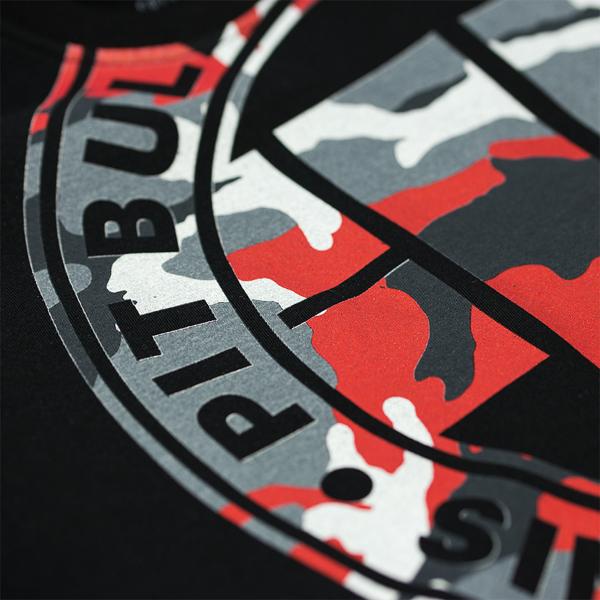 Pit Bull Koszulka URBAN CAMO Czarna