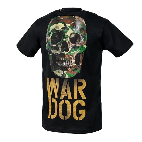 Pit Bull Koszulka WAR DOG Czarna