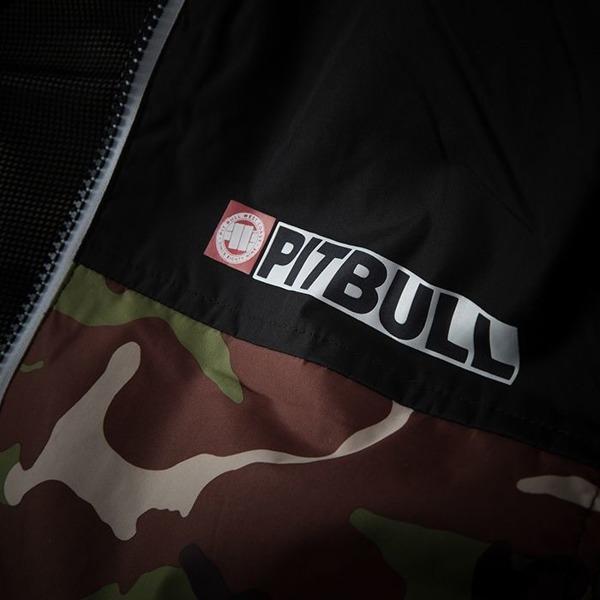 Pit Bull Kurtka przejściowa HOMELANDS II Camo Brązowo-Zielona