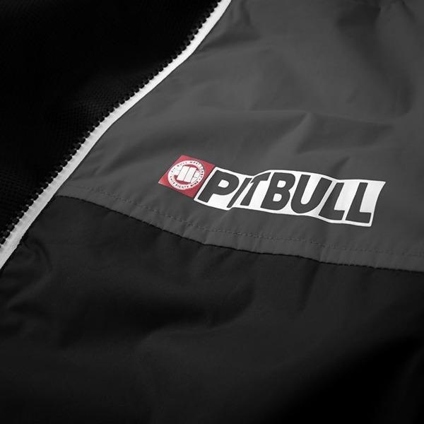 Pit Bull Kurtka przejściowa HOMELANDS II Czarno-Szara