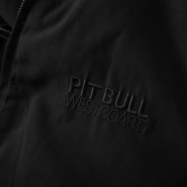 Pit Bull Kurtka przeciwdeszczowa BIRDROCK II Czarna bez kaptura