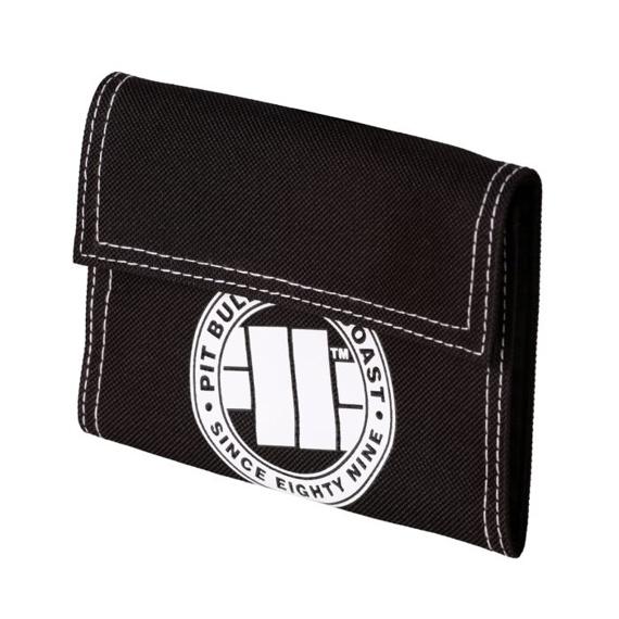 Pit Bull Portfel Small Logo Biały