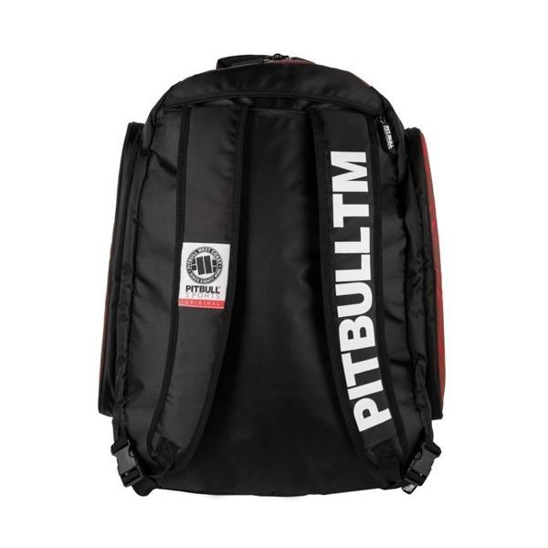Plecak sportowy Pit Bull duży ESCALA Czerwony
