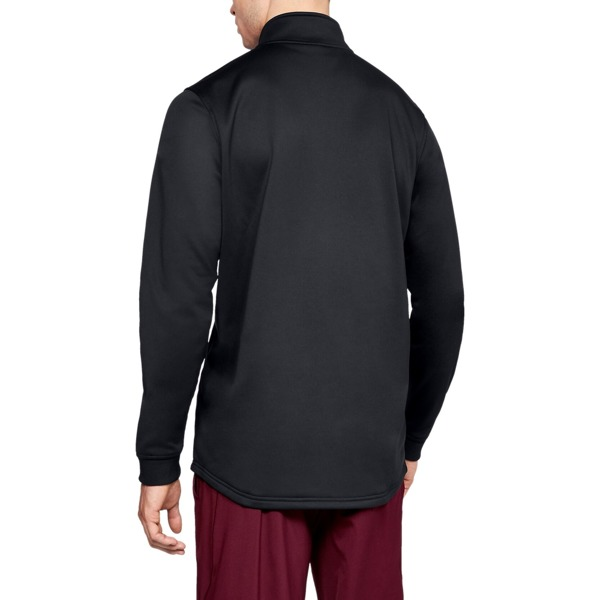 Under Armour Bluza bez kaptura ARMOUR FLEECE 1/2 ZIP Czarna
